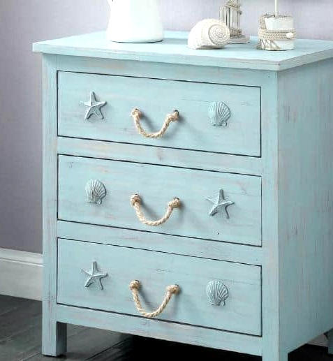 Look For a Cute Beach-Inspired Nightstand