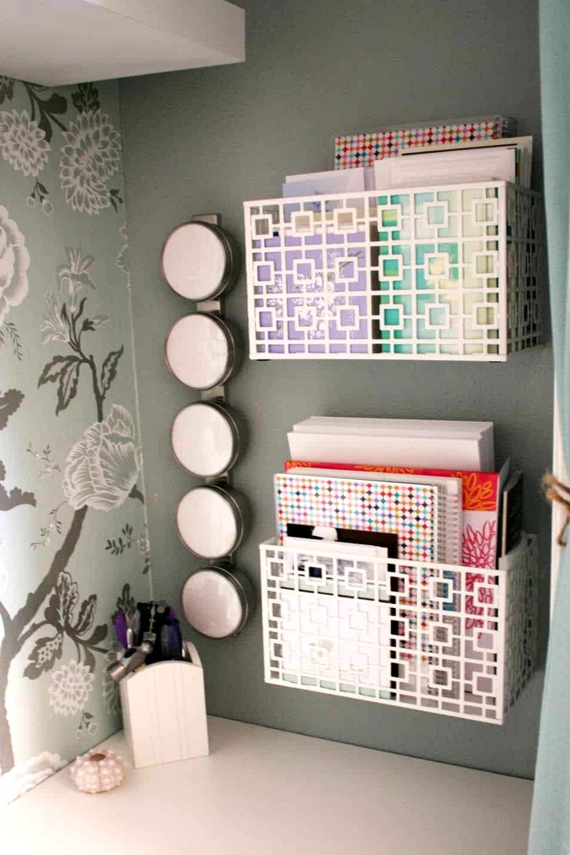 Organization-bins-for-cubicle-decor