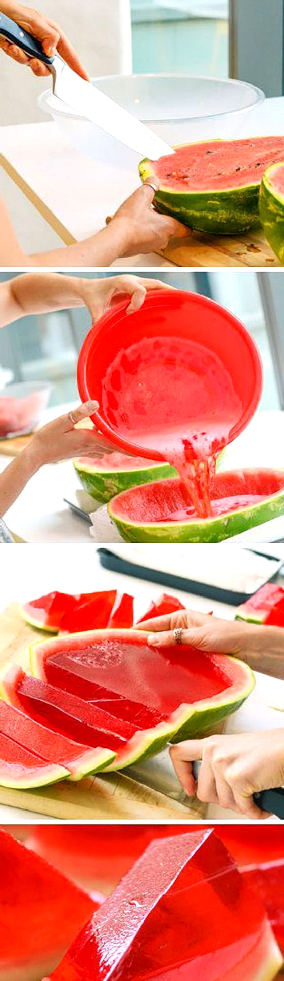 Watermelon-Jello-Shots