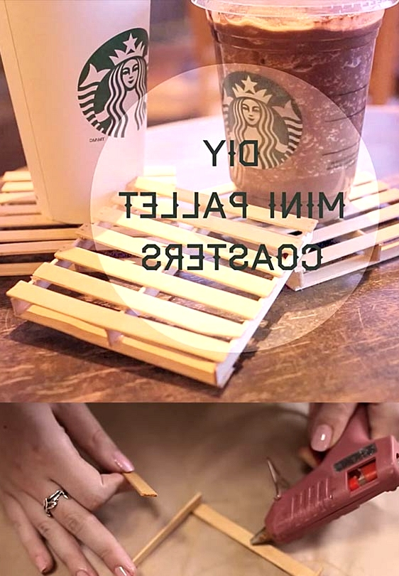 BUILD BRILLIANT DIY MINI PALLET COASTERS