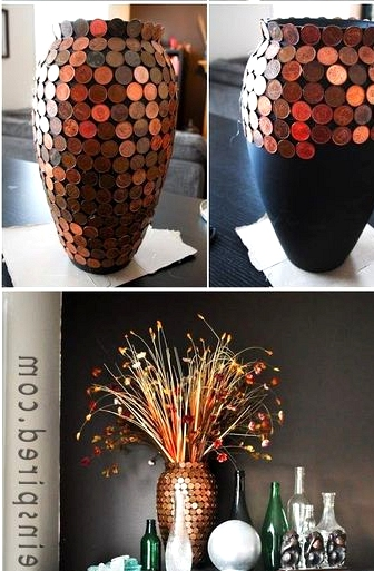 realize an epic copper vase