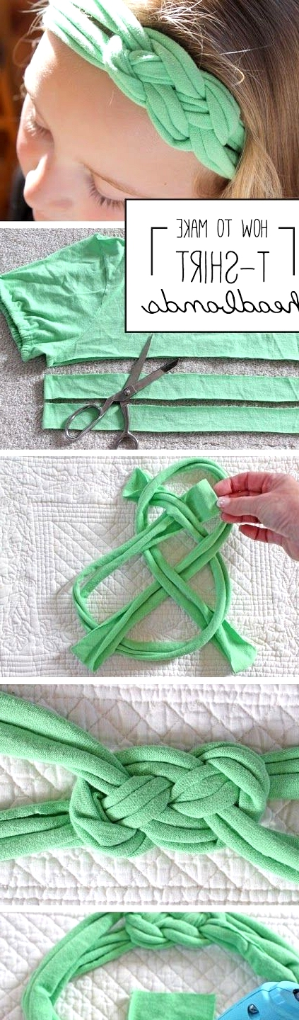 LEARN HOW TO MAKE T-SHIRT HANDBANDS