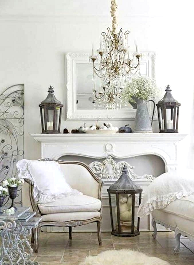 Pure White French Décor