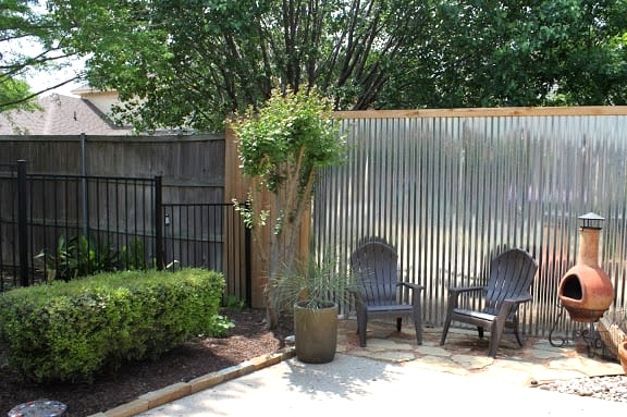 Be Unique With a Tin Privacy Wall