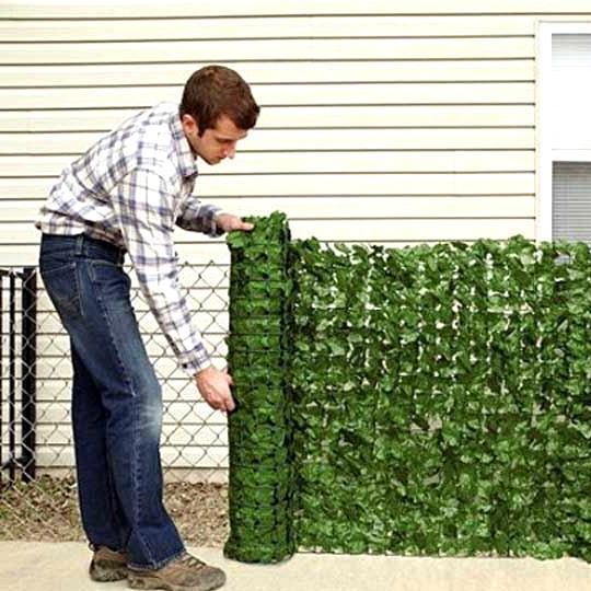 Buy a Fake Greenery Wall