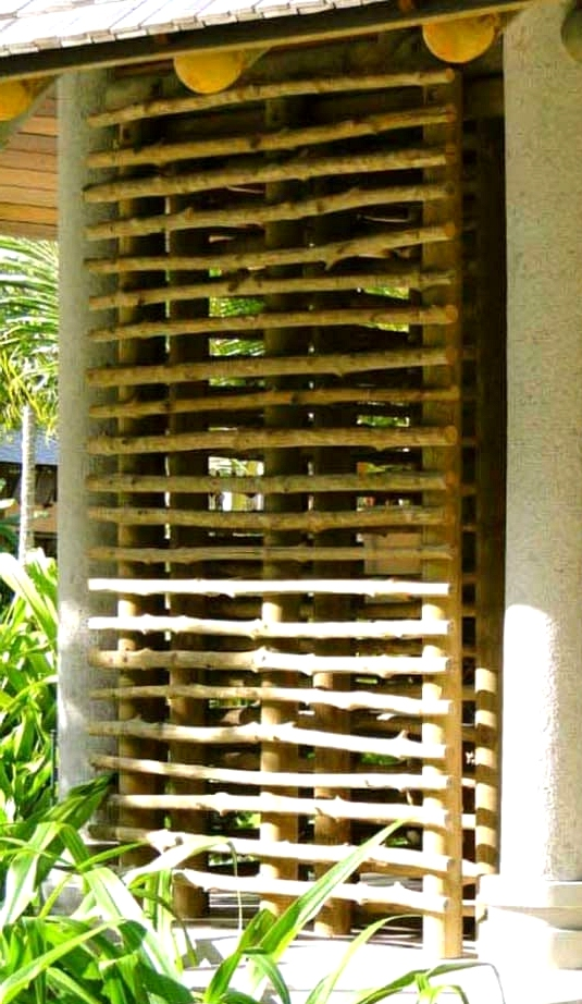 Build Your Own Tree Branch Privacy Screen