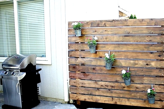 Build a Rustic Slat Wall With Repurposed Wood