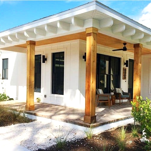 Get a Summery Porch Roof