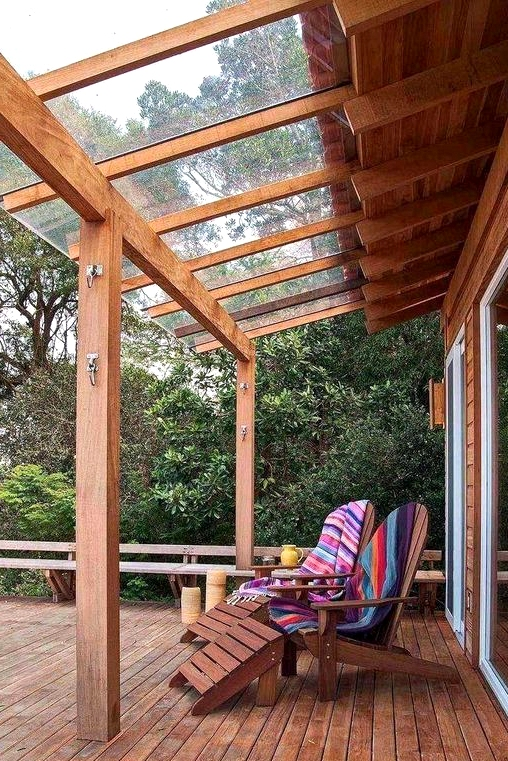 Glass Sheets for Porch Roof