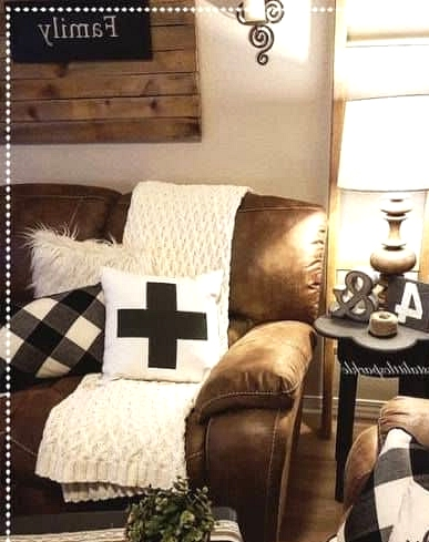 Play With Different Textures for the Farmhouse Look