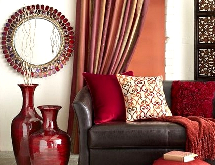 Make a Splash With Bold Red Accents