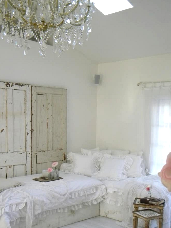 A Girlie Shabby Chic Living Room