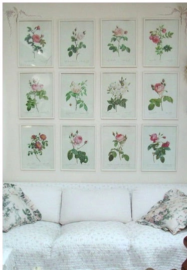 A Shabby Chic Floral Theme with a Twist