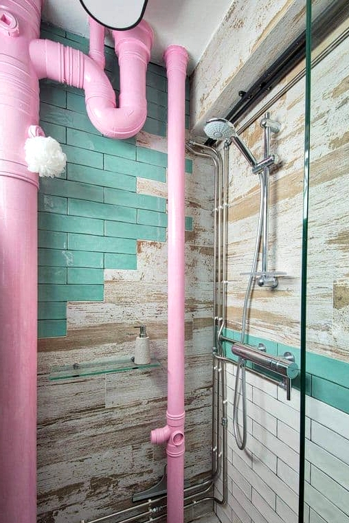 Create an Industrial Rustic Bathroom
