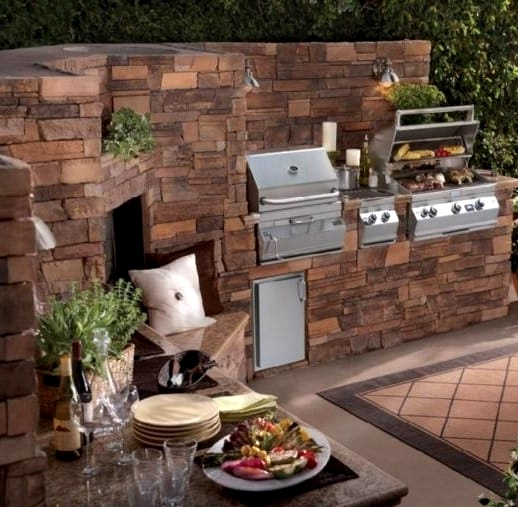 Build a Charming Brick Kitchen Space