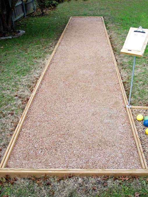 Create Your Own Bocce Ball Court