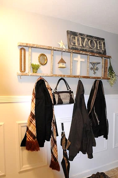 Turn It Into a Coat Rack for the Hallway