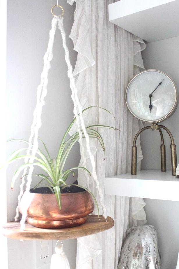 Ikea hack hanging planter