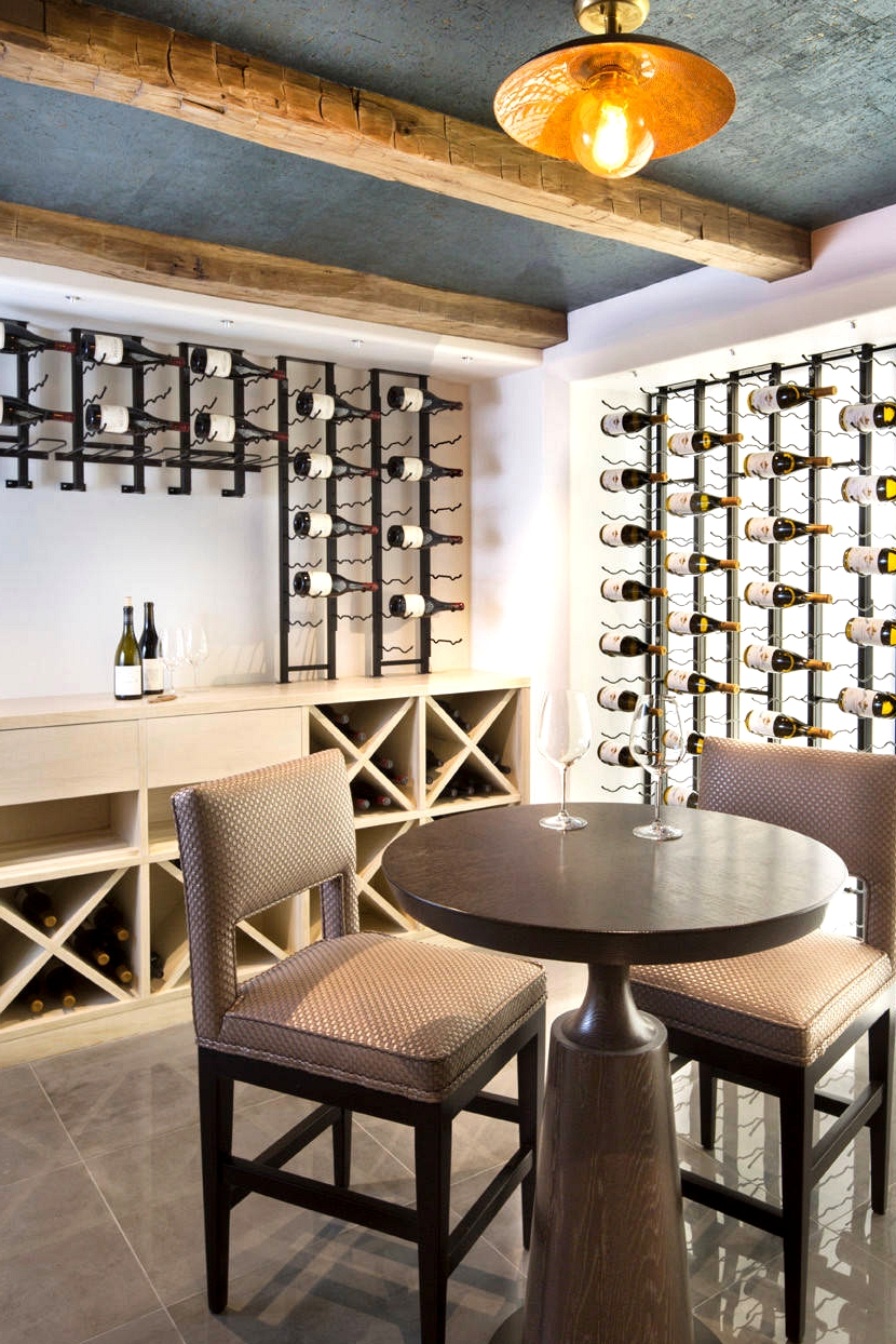 16 Sophisticated Mid Century Modern Wine Cellar Designs