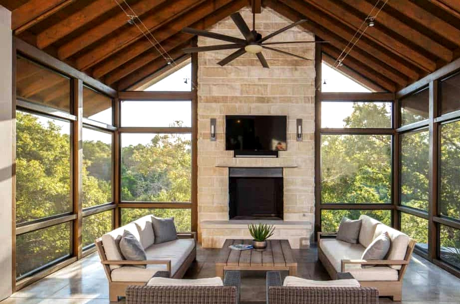 Make it Bright and Spacious with Floor-to-Ceiling Windows