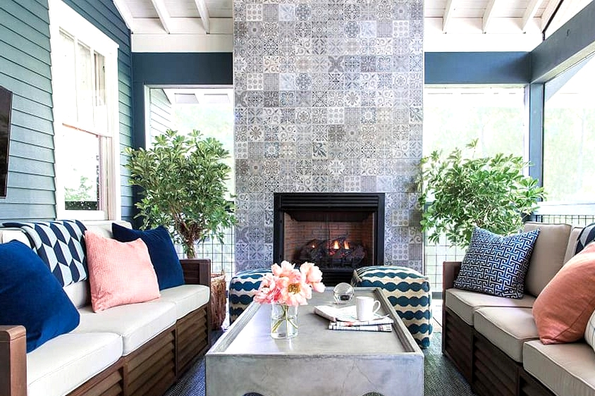 Make a Fireplace Your Focal Point
