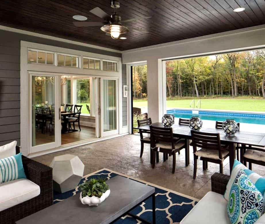 Add a Retractable Screen to the Outdoors