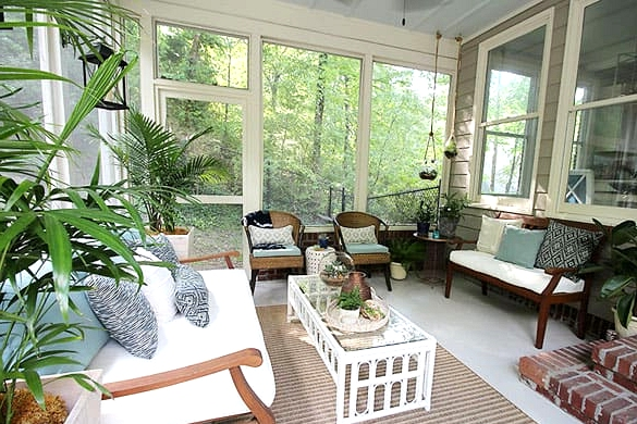 Add Large Plants to Bring in the Outdoors