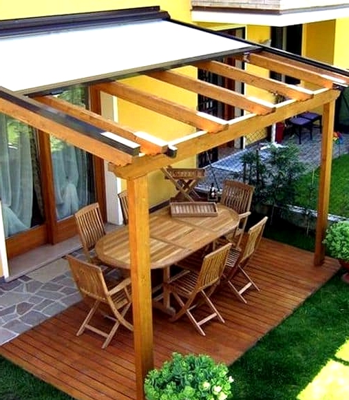 Look for a Retractable Patio Cover