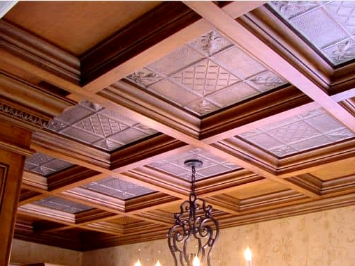 Instate a Luxurious Drop Ceiling Grid
