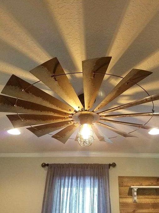 Steampunk Ceiling Fan