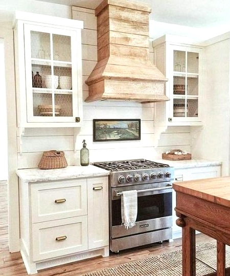 Country modern farmhouse kitchen design