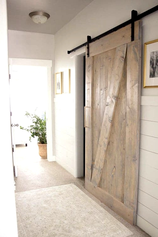 Install a Barn Door in the Hallway