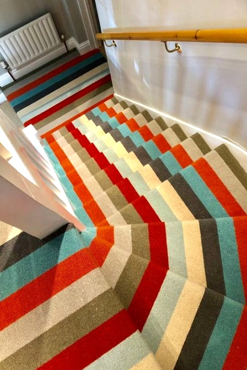 Get a Bold Carpet Look
