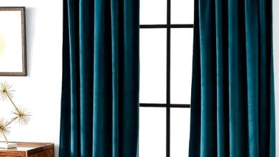 17 Wonderful and Distinctive Curtain Concepts for Massive Home windows