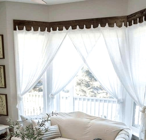 Use Several Curtains (And Curtain Rods)