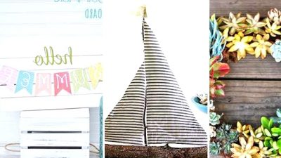 16 Fantastic DIY Summer time Decor Concepts You Can Shortly Craft