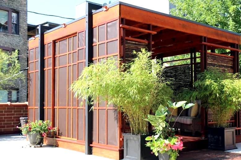Build an Elaborate Japanese-Inspired Teahouse