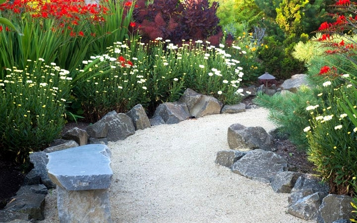 Find Large, Asymmetrical Stones for a Garden Path