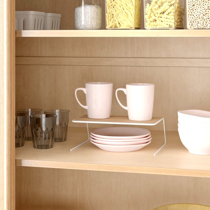 House Dishes in the Pantry If You're Lacking On Cabinet Space