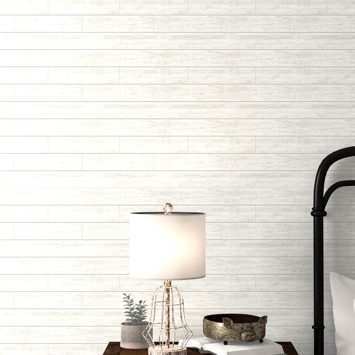 Wallpapered Statement Wall