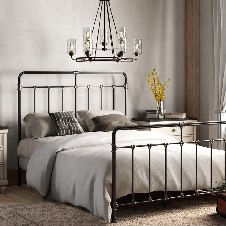 Wrought Iron Bed