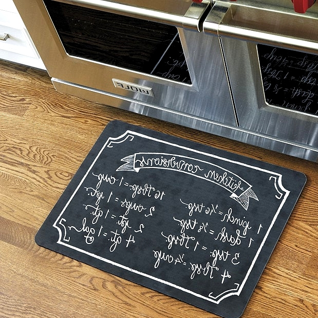 Get a Fun Cooking-Themed Kitchen Mat