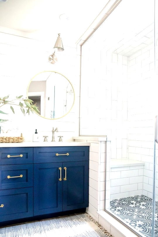 Budget friendly bold patterned tile