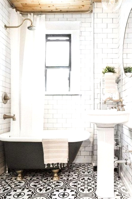Farmhouse Bathroom tile