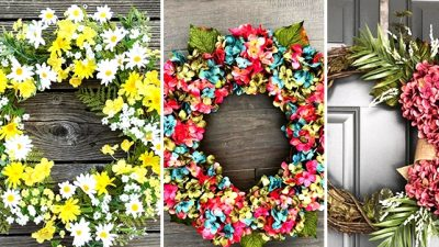 18 Refreshing Summer season Wreath Designs Your Entrance Door Wants Proper Now