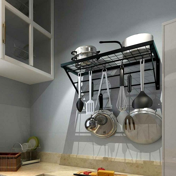 Mount a Pots & Pans Hanger to the Wall
