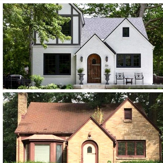 English Cottage Before and After