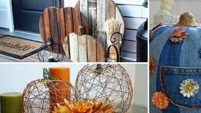 8 Artistic DIY Pumpkin Decor Concepts From Issues Different Than Pumpkins