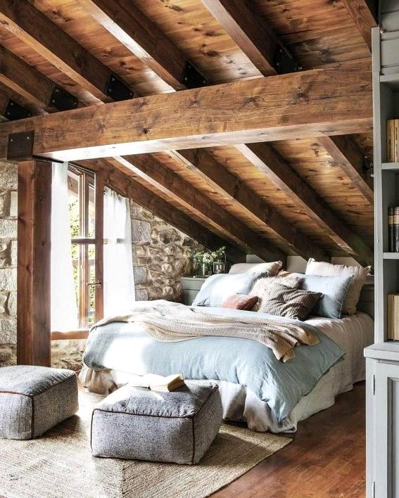 Copy the Look of This Warm & Cozy Rustic Bedroom