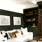 Moody Dark Green Accent Wall Ideas